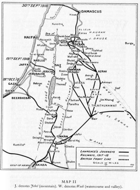 Palestine and the Levant in 1917