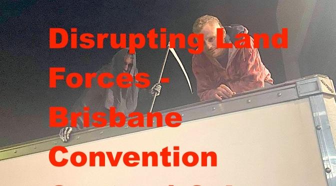 Disrupting Land Forces